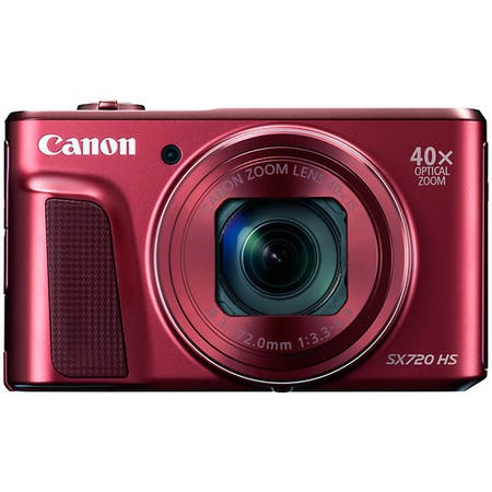 Canon PowerShot SX720 HS Compact Digital Camera - Red