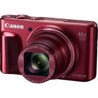 Canon PowerShot SX720 HS 20.3 MP Compact Digital Camera - 1080p - Red