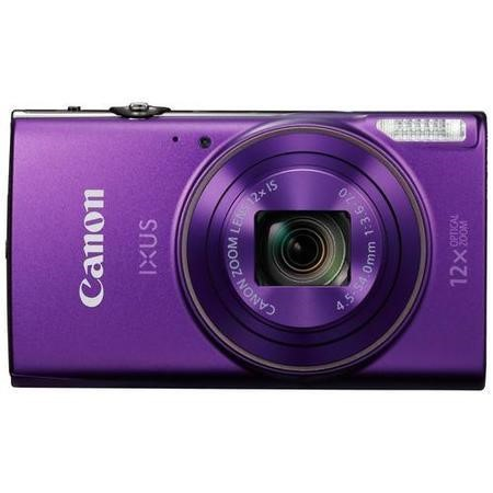Canon IXUS 285 HS Purple Camera Kit inc 16GB SD Card and Case