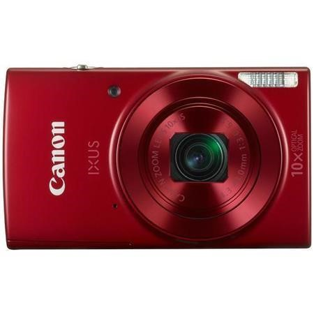 Canon IXUS 180 Compact Digital Camera - Red
