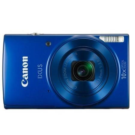 Canon IXUS 180 Compact Digital Camera + 16GB SD Card + Camera Bag - Blue
