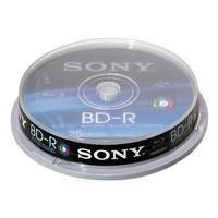 Blu Ray 10Pk 25GB Recordable Single Spin  Blank Disks