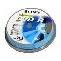 Sony DVD-R 4.7GB 10 Pack Blank Disks