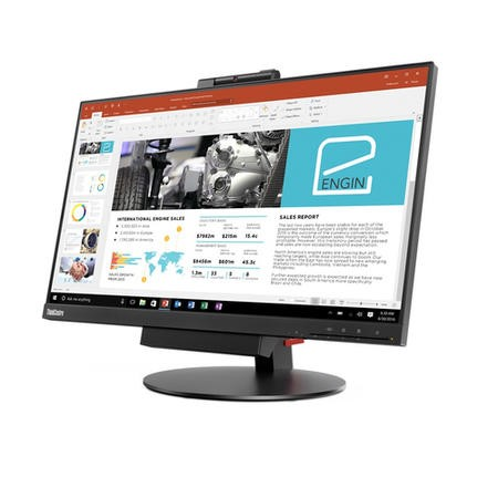 "GRADE A2 - Lenovo 23.8"" ThinkCentre Full HD Monitor"