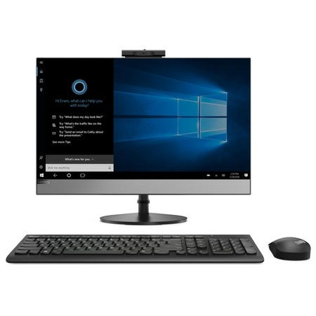 "Lenovo V530-241CB Core i5-8400T 8GB 256GB SSD 24"" Windows 10 Pro All-In-One PC"