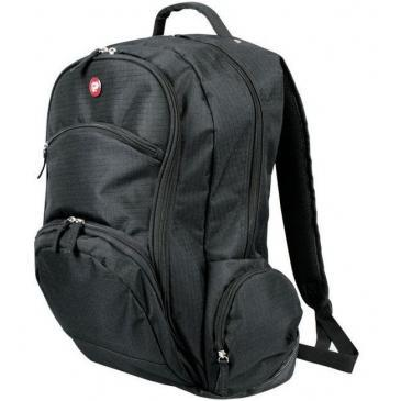 "Port Designs 17""-18"" Aspen Laptop Backpack with Rain Cover - Black"