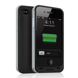 Mophie Juice Pack Air Case and Rechargeable Battery for iPhone 4/4S - Black