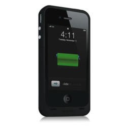 Mophie Juice Pack Plus Case and Rechargeable Battery for iPhone 4/4S - Black