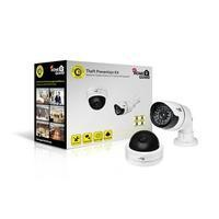 HomeGuard Dummy CCTV Camera Twin Pack