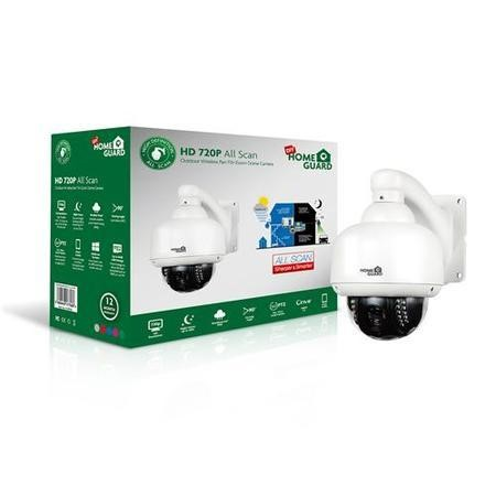 HomeGuard Outdoor P&T Camera 720p HD