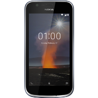 "Nokia 1 Dark Blue 4.5"" 8GB 4G Unlocked & SIM Free"