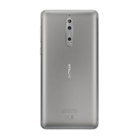 "Nokia 8 Steel 5.3"" 64GB 4G Unlocked & SIM Free"