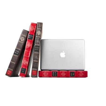 "Twelve South BookBook Leather Case for 13"" MacBook Pro - Red"