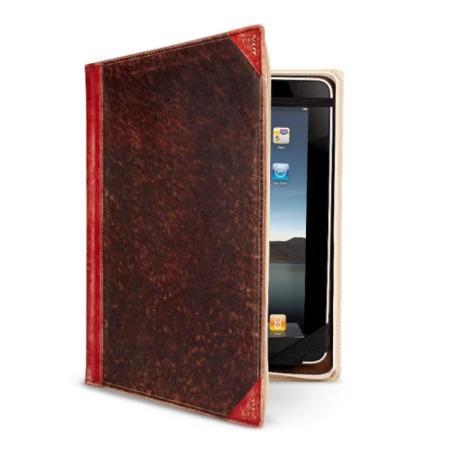 Twelve South BookBook Leather Case for iPad 2 and iPad 3 - Red