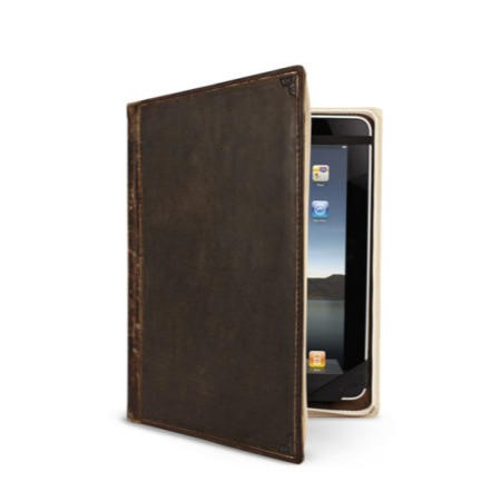 Twelve South BookBook Volume 2 Leather Case for iPad 2 3 and 4 - Black