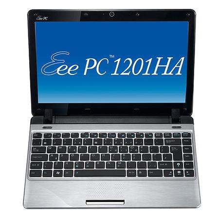 ASUS Eee PC 1201HA Seashell Netbook in Silver