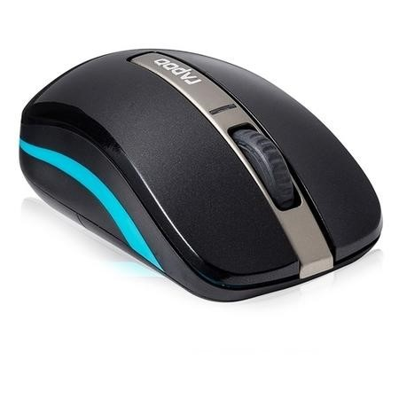 Rapoo 6610 Dual-mode Wireless 2.4GHz & Bluetoooth 3.0 Optical Mouse Black