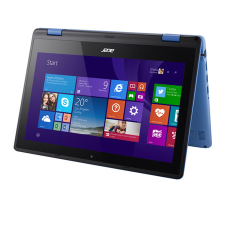 A2/NX.G0YEK.038 Refurbished Acer Aspire R3-131T Intel Celeron N3050 4GB 500GB 11.6 Inch Windows 10 Laptop