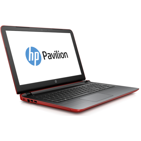 "Refurbished HP Pavilion 15-AB270SA 15.6"" Intel Core i3-5157U 2.5GHz 8GB 1TB DVD-RW Windows 10 Laptop in Red"