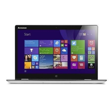 "Refurbished Lenovo Yoga 3 14"" Intel Core i7-5500U 2.4GHz 8GB 256GB SSD Windows 8.1 Touchscreen Convertible Laptop in White"