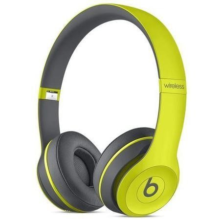 Beats Solo2 Wireless Headphones Active Collection - Shock Yellow