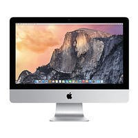 "GRADE A1 - Refurbished Apple iMac 21.5"" Intel Core i5 2.9GHz 8GB 1TB Nvidia GeForce GT 750M All in One"