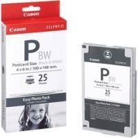 Canon E-P25BW Easy Photo Pack Postcard Size100 x 1