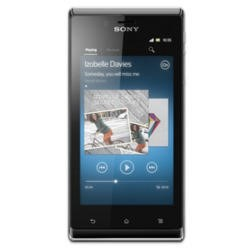 Sony XPERIA J 4GB Black Sim Free Mobile Phone