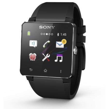 Sony Smartwatch 2 Android Watch - Black Sillicone