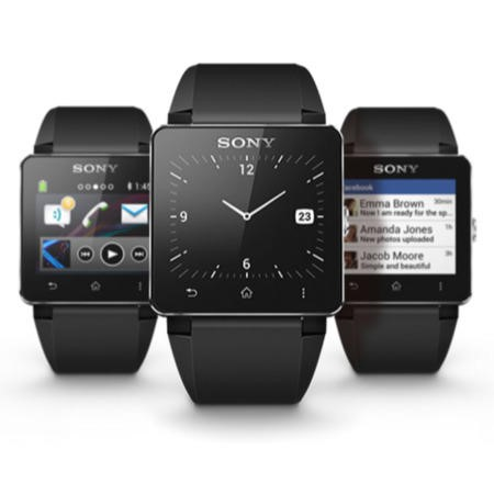 Sony SmartWatch 2 SW2 SIlver Android 4.0 compatible