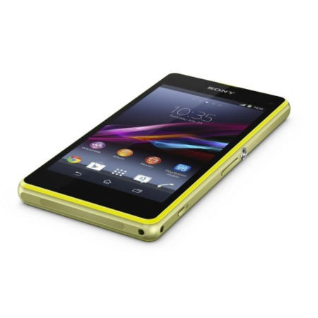 Sony Xperia Z1 Compact Lime Sim Free Mobile Phone