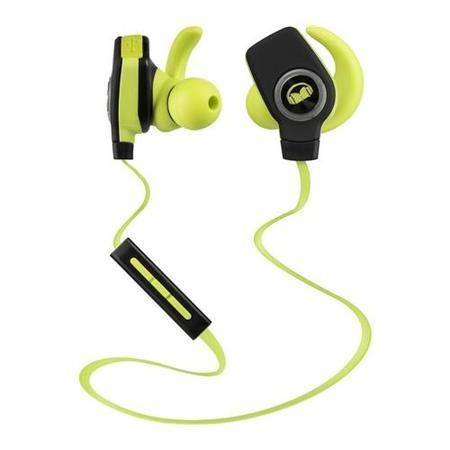 Monster iSport SuperSlim Wireless In-Ear Headphones - Green