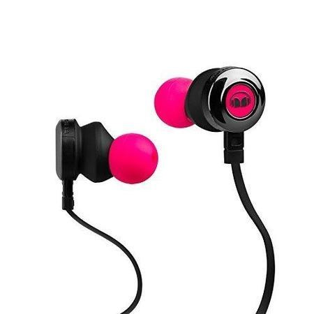 Monster Clarity HD Noise Isolating In-Ear Headphones - Neon Pink
