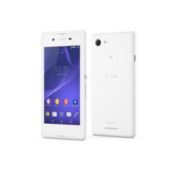 Sony Xperia E3 Sim Free White Mobile Phone