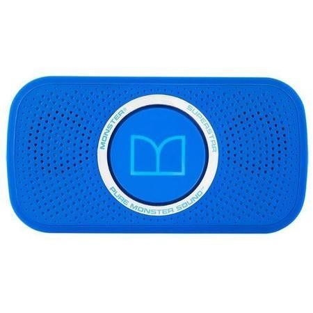 Monster SuperStar Bluetooth Speaker - Neon Blue