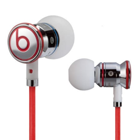 iBeats In-Ear Headphones by Dr. Dre - Chrome