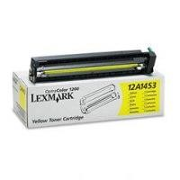Lexmark 12A1453 Yellow Laser Toner Cartridge for the Lexmark Optra Color 1200 Laser Toner Printer (6,500 pages yield at 5% average coverage)