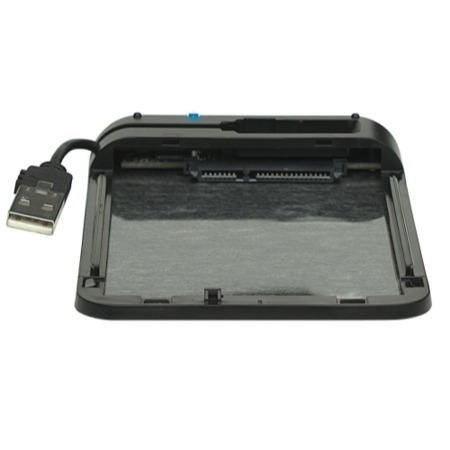 "Manhattan Drive Enclosure 2.5"" USB2 BLK"