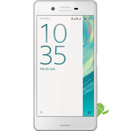 "A1/13033117 Refurbished Sony Xperia X Graphite White 5"" 32GB 4G Unlocked & SIM Free"