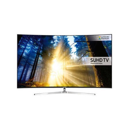 Samsung UE65KS9000 65 Inch Curved SUHD 4K Ultra HD HDR Quantum Dot Smart TV with Freeview HD/Freesat HD & Playstation Now