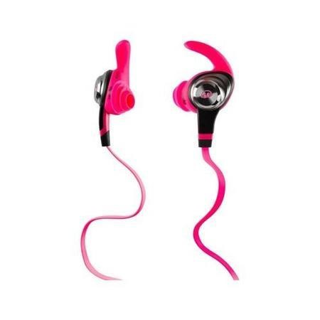 Monster iSport Intensity In-Ear Headphones - Neon Pink