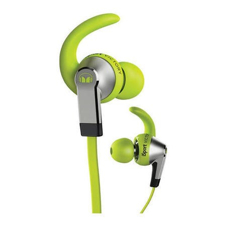 Monster iSport Vicotry In-Ear Sport Headphones - Green