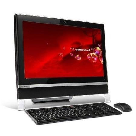"A2 Refurbished Packard Bell OneTwo D6020B Intel Pentium T4400 2.2GHz 3GB 640GB DVD-RW 20"" Touchscreen Windows 7 All In One Desktop"