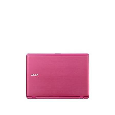"Refurbished Acer Aspire V3-112O 11.6"" Intel Celeron N2840 2GB 500GB Win8 Touchscreen Laptop in Pink"