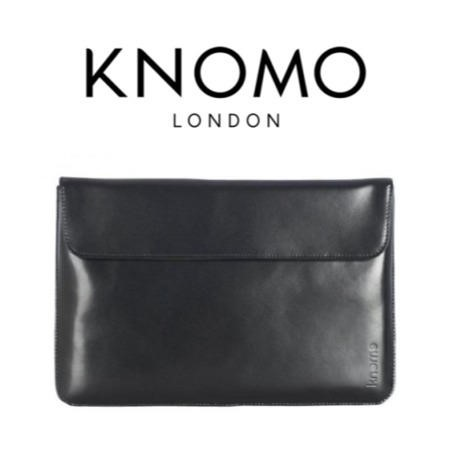 Knomo 13 inch Leather MacBook Air Envelope - 14-070-BLK