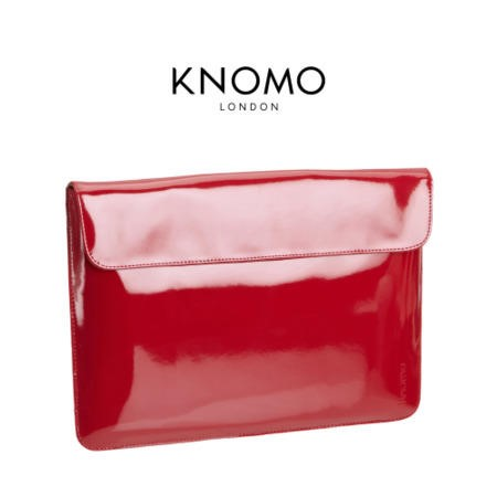 Knomo Patent Leather Case for Laptops/Tablets up to 13""