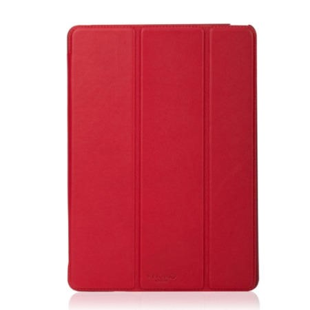 Knomo leather scarlet leather folio for iPad Air2