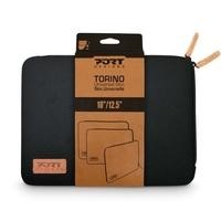 Port Design Torino Sleeve for 10/12.5 Inch Laptops in Black