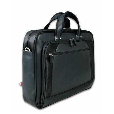 "Dubai 13"" - 14"" Leather Laptop Bag"