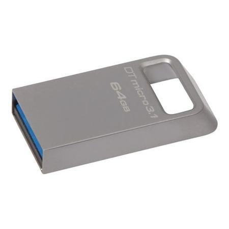 Kingston DataTraveler Micro 64GB USB 3.1/3.0 Flash Drive